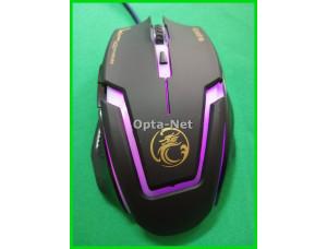 Игровая мышь  с подсветкой APEDRA A9