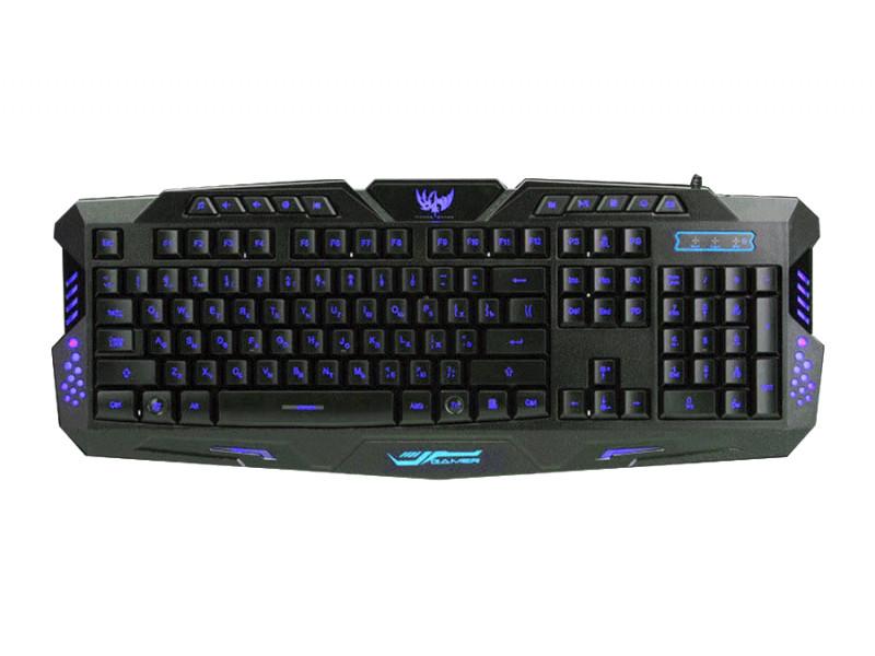 Компьютерная клавиатура М200 с LED подсветкой