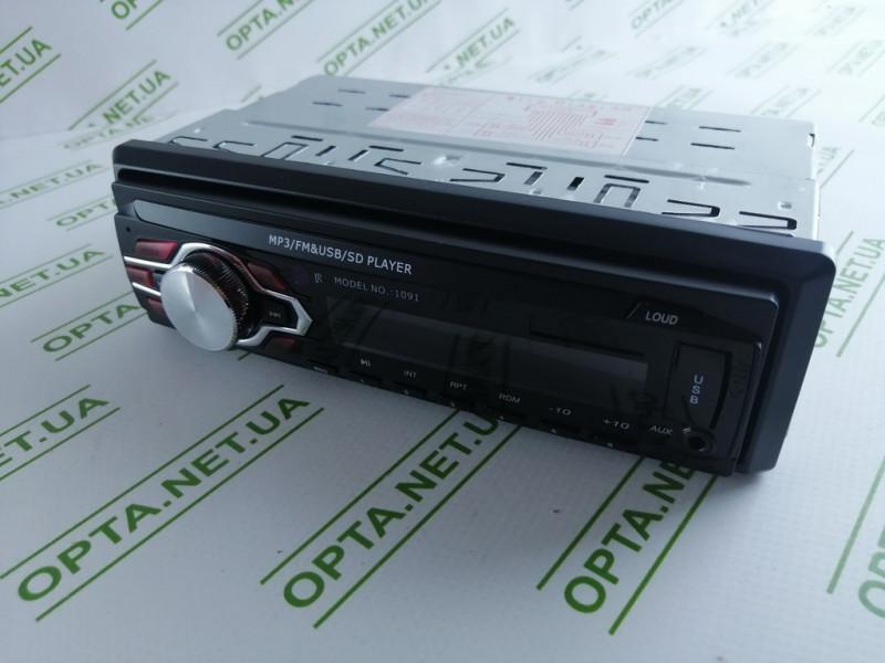 Магнитола  Pioner 1091 ISO с USB/ FM/ MP3