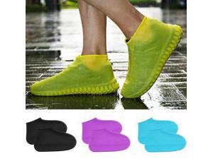 Защитные чехлы (бахилы) на обувь от воды  (цвет Белый, размер М, L)