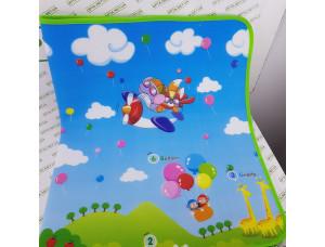 Детский игровой коврик для игр и ползания 90*150 см (мягкий )