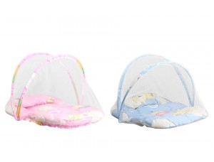 Детская кроватка-палатка с москитной сеткой (new babybed) Розовый