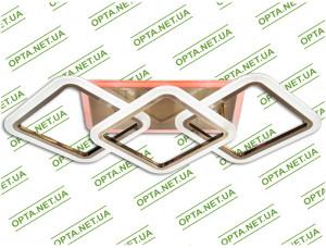 Светодиодная люстра MX2400/2+1LC BR LED  (Бронза) 70W