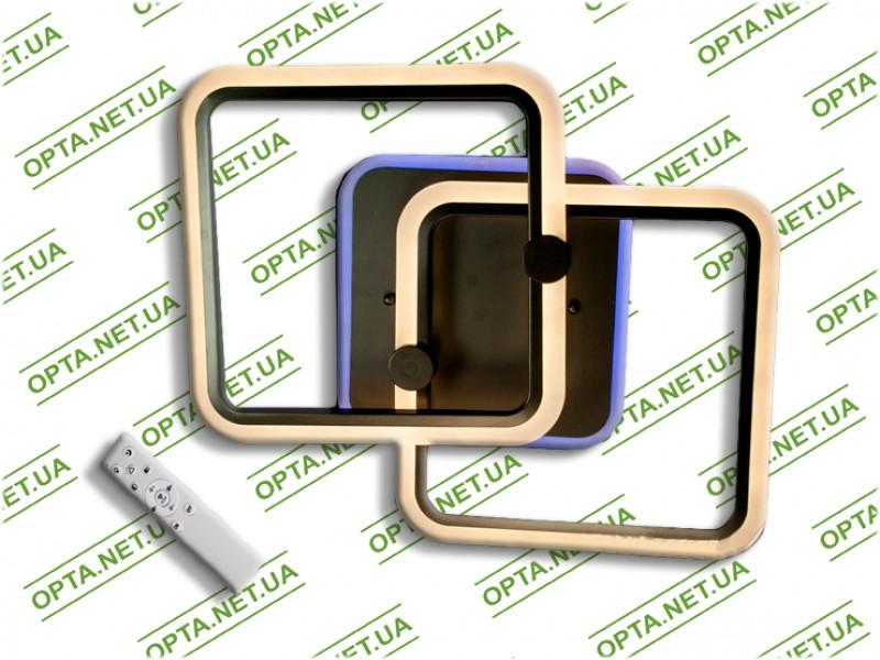 Светодиодная люстра MX2503/2CF LED 3color dimmer (Коричневый) 55W