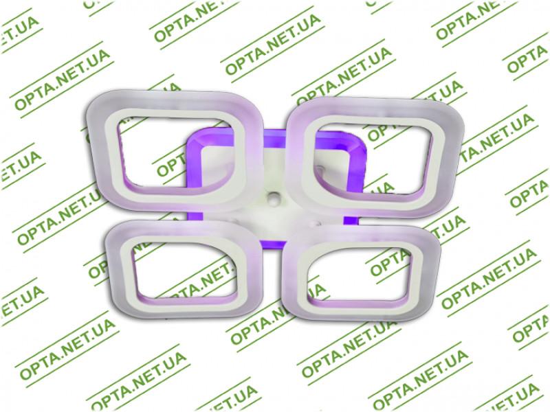 Светодиодная люстра S8060/4WH LED 3color dimmer (Белый) 55W