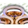 Светодиодная люстра A8022/3+3HR LED 3color dimmer (Хром) 85W