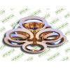 Светодиодная люстра A8022/3+3G LED 3color dimmer (Золото) 85W