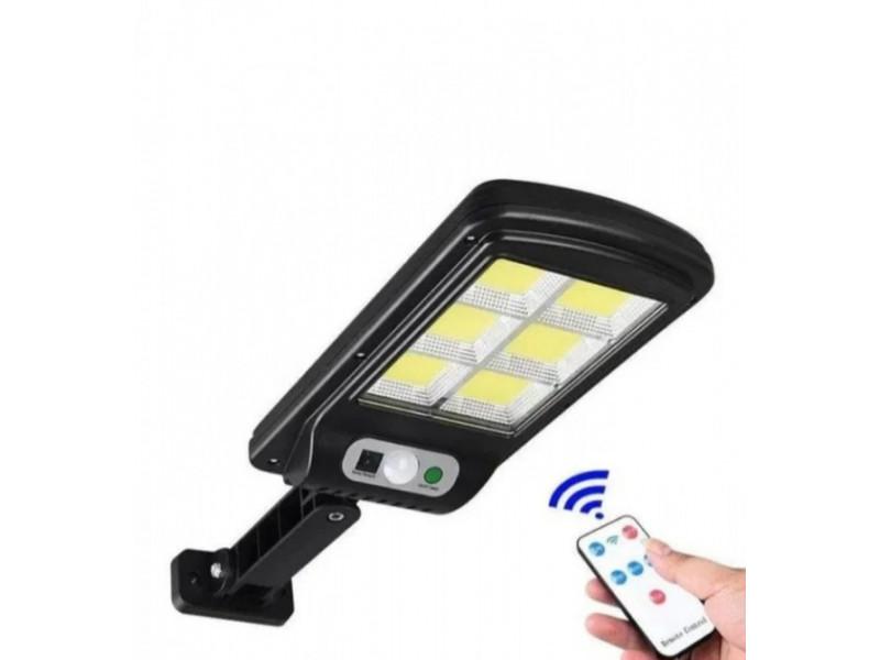 Светильник/Фонарь уличный с пультом на солнечной батарее Street Light BL 120-6COB