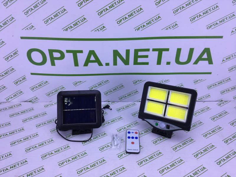Светильник/Фонарь уличный с пультом на солнечной батарее Street Light BL 128-4COB