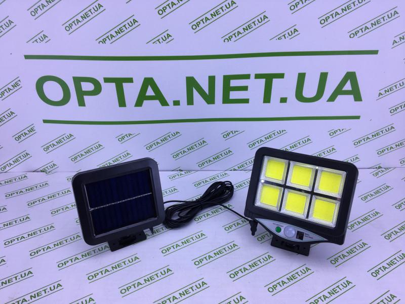 Светильник/Фонарь уличный с пультом на солнечной батарее Street Light BL 128-6COB