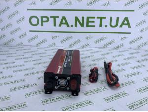 Преобразователь PowerOne Plus 12V-220V 2000W + USB/LED (SSB-2000W)