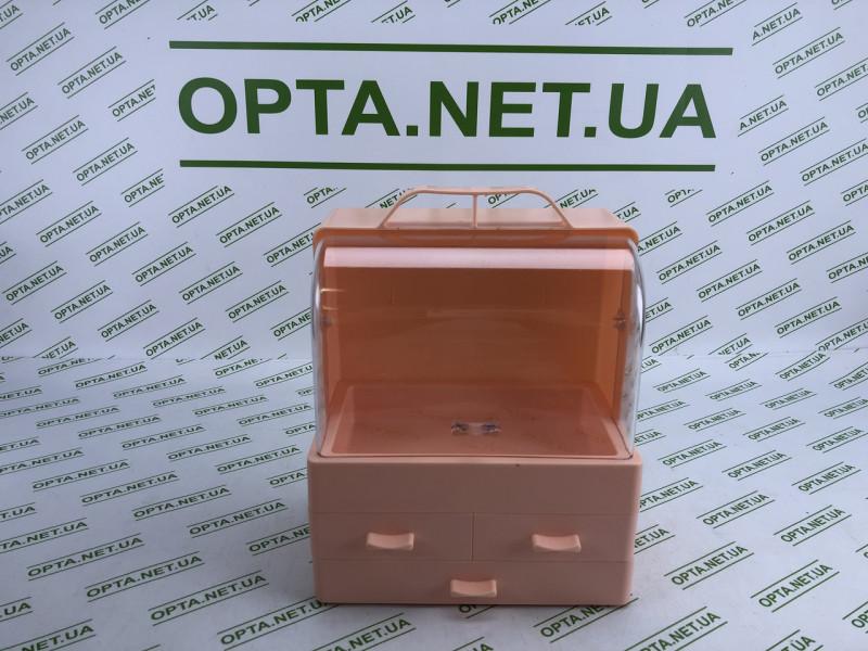 Настольный Органайзер для косметики Cosmetic Storage Box LD  GW 880 Розовый