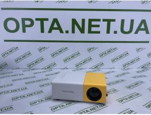 Проектор портативный Мини проектор LED Projector YG300 с пультом и динамиком