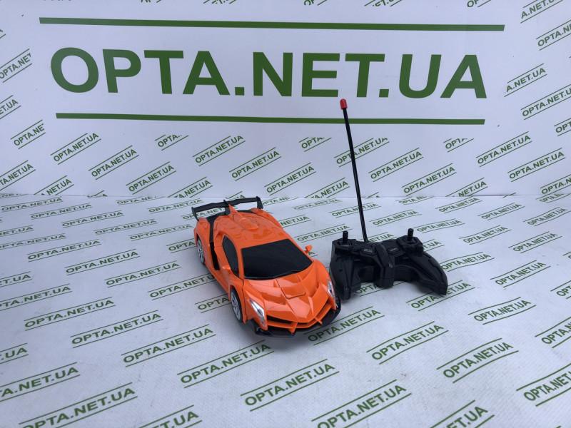 Машинка-трансформер на радиоуправлении 889-18 Робот+машинка 22см Оранжевый