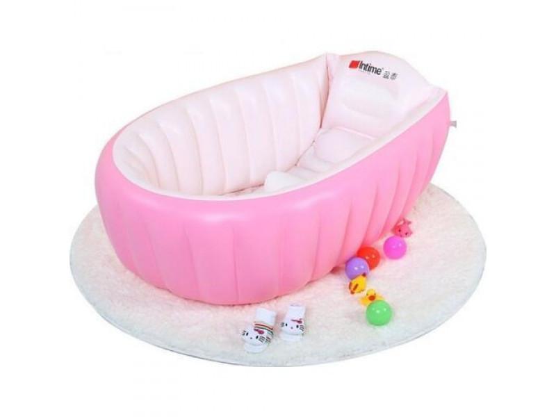 Надувная ванна Bath Tub for Kids  200 pink YT-226A