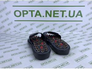 Качественный Массажные тапочки для ног акупунктурной терапии Массажная обувь для ног