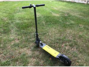 Двухколесный электросамокат для взрослых и детей   Pro 350 Grey