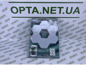 Модульная настенная Шестигранная комбинированная Лампа Цветная настенный светильник 6 штук