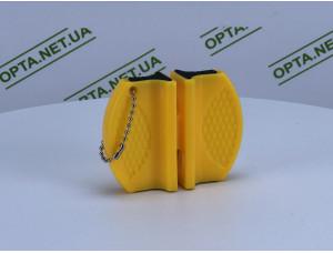 Магнитная щетка для мытья стекол TV03-42 желтая