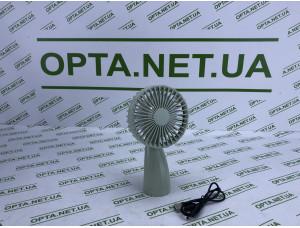 Качественный Ветилятор портативный настольный 1 скорость с аккумулятором Mini Fan 6601 USB