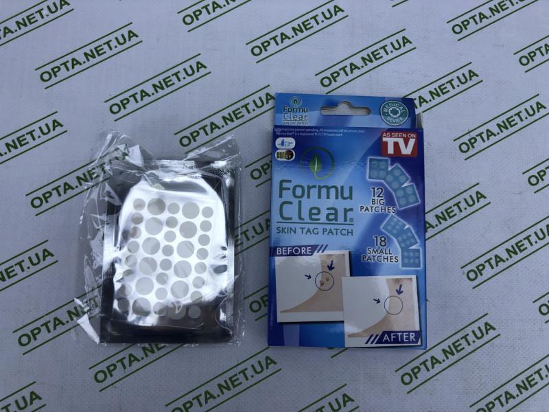 Средство от папиллом в виде пластыря Formu Clear (12+18 шт)