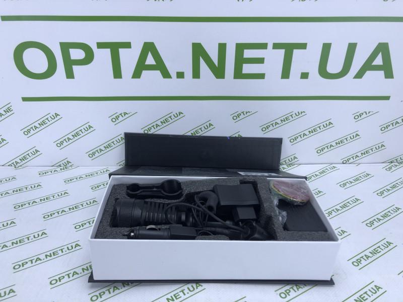Аккумуляторный фонарик с зумом X-BAIL BL-Q2800 T6 Разноцветные насадки