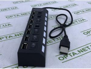 USB хаб на 8 портов  с переключателем Hub8USB