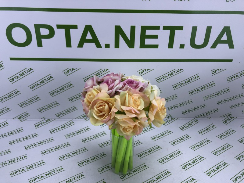 Гелевая ручка форме  Разноцветных роз  pencil flowers PF2