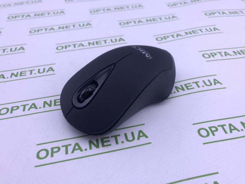 Мышка компьютерная iMICE E-2370 Black беспроводная USB