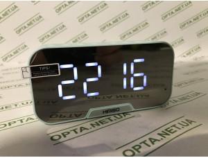 Радиочасы с подсветкой Kimiso K10 (бирюзовые)