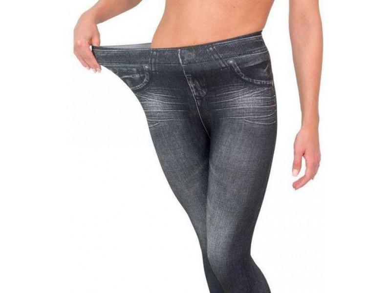 Корректирующие джинсы Slimn Lif Caresse Jeans Серые