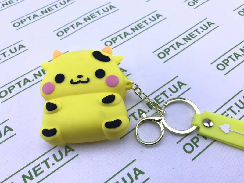 Милый чехол 3D для AirPods Pro 2 / 1 Pikachu (жёлтый)