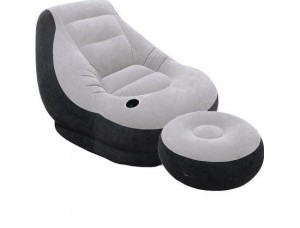 Кресло кровать надувная Single Size (утолщенное кресло для отдыха)