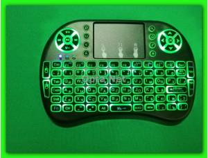 Bluetooth клавиатура с мышкой RT-MWK0 greenLED подсветка