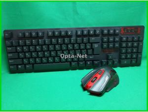 Клавиатура и мышь беспроводные HK6500